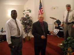 Bro. Hill and Bro. Bishop