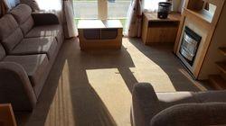 Static caravan - lounge
