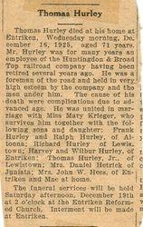 Hurley, Thomas 1925
