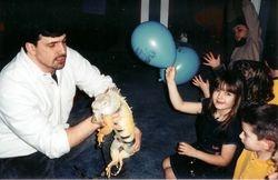 Iguana and Kids