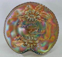 FENTON, Brazier's Candies handgrip plate - amethyst