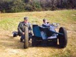 Servicing 36mm Pak Gun:
