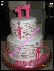 CAKE 48A2 -Disco Era Cake