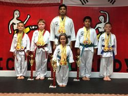 06/7/2015 Metro Open TKD Championship  went with 6 Students came back with 13  1st Place  3  2nd Place  4  3rd Place