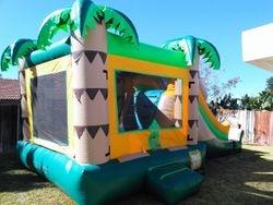 Tropical Mega Combo Jumper with Slide