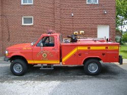 Old Brush Truck 9124/1209