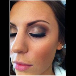 bridal smokey eye