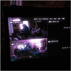DVR cameras rolling