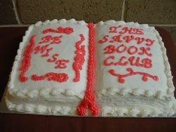 Savvy Book Cake