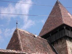 Dakpannen leggen op het grote dak