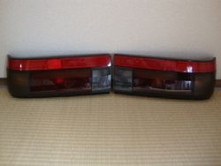 OEM AE86 Redline Kouki (Black Limited) Hatch Tail Lights