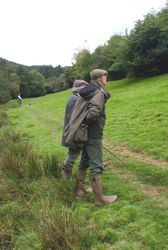 Stuart and  the shoot owner Tim Woodgate-Jones