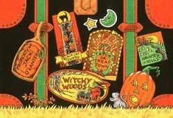 Halloween luggage tags
