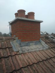 Chimney After Coping stone