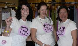 Squishy Kuma logo t-shirts $20