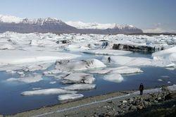 Gletsjermeer met Els