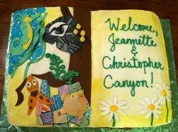 Children's Book Illustrator cake