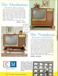 The Manhattan Model 166-23 and The Portabout Model 156-23W