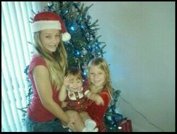 My grandchildren from Gentry are Austyn, Gabriella & Lexie, 2011