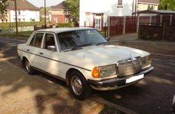 1980s Mercedes 200