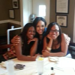 "Chelby, Demetria McKinney & Iesha Marie At ""Mary Mac's Tea Room"""