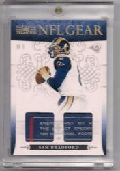 Sam Bradford 2010 National Treasures Rookie NFL Gear Tag