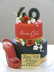Louboutin Shoe Cake 4