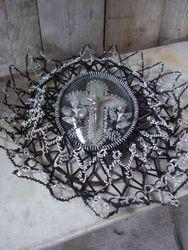 #13/299 Beaded Wreath SOLD