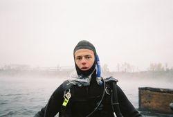 Mark, advanced diver.