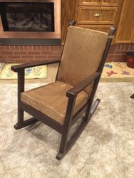 The finished chair.