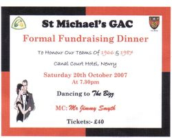 St. Michael's GFC Formal
