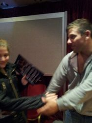 WWE Star Matt Striker greets Summer Yearsley