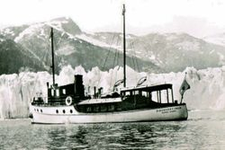 Captain E.G. Beaumont's Dscovery Isle built in 1930 in Hong Kong.