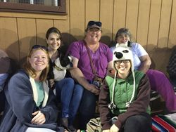 AAZk celebrated the week with a social event at the Humboldt Crabs game
