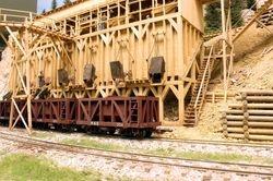 Ore shipment from the Mendota Mine