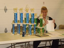 American Gamefowl Breeder Association trophies