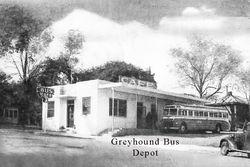 Greyhound Bus Depot  co-December