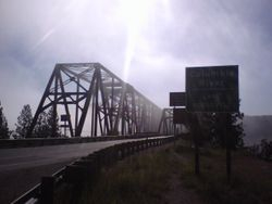 Bridge at Columbia River/Lake Roosevelt