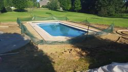 18x42 Double Roman Auto Cover - Pool in a Pool