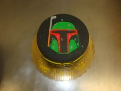 6 inch star wars cake $90