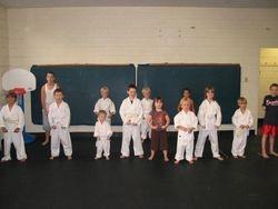 Little Tigers Prepare to Close class.