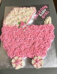 Carriage Cupcake Cake
