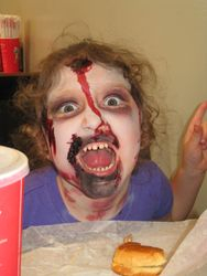 Little Girl Zombie