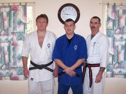 Sensei Chris Foster from Honbu