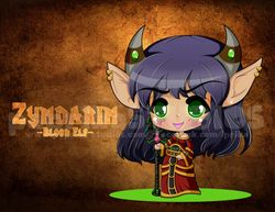 Chibi Blood Elf Zyndarin