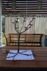 Twisted Tree Candlestick Holder