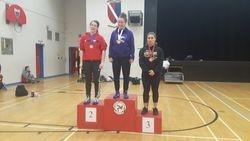 Klara Patel - 2nd place at Junior Provincials 2017