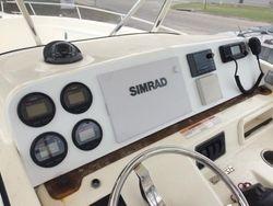 Rebuilt dash on Pursuit - Simrad - JL Audio