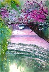Little Bridge in Garden Li at WuXi