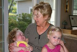 Meggy, Taylor, and Mommom.
